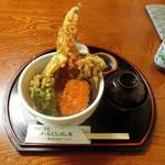 ふみくら茶屋 - 穴子天丼