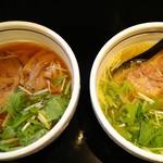 麺屋 焔 - 醤油らーめん、塩らーめん