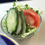 サファイヤ - 喫茶店のサラダはゴマドレ率が高い( 笑 )
