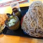52176170 - 富士山もり¥500+野菜天盛り¥300