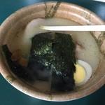 阪神甲子園球場 - メッセの鶏白湯ラーメン並(850円)