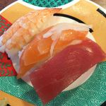 朱輪 - 料理写真:まぐろ、サーモン、えび