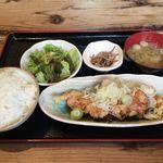 葱蔵 - 鶏の唐揚げ定食