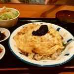 AMET - 豚肉のアメットライスオム納豆のり