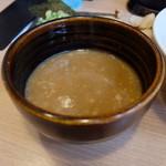 つけ麺 らーめん 春樹 - 濃厚でとろりとしたつけ汁