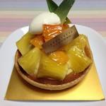 グラマシーニューヨーク - アップルマンゴー&パイナップルタルト