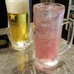 52180746 - 生ビール&バイスサワー