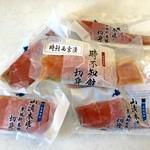 道の駅 YOU・遊・もり  - 料理写真:鮭の切り身5袋400円、1枚おまけです♪