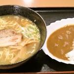 うまみや螢 - 料理写真:ミニカレーセット900円