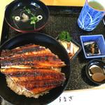 うなぎ料理 くりはら - オープン♡    ボリューミー(*^_^*)   うなぎ丼(特)