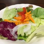 いきなりステーキ - サラダアップです。