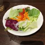 いきなりステーキ - サラダです。