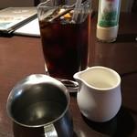 ホルツはつしま - 税別+195円で頂いたアイスコーヒー