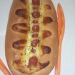 52187403 - 焼きたてのウィンナーパンです。美味