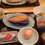ひいらぎ亭 アーバンホテル草津店 - 朝食(和定食)
