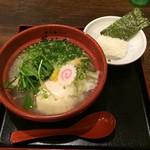 博多鶏ソバ 華味鳥 - 水炊き鶏ソバ