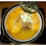まるとく - 料理写真:「とりこつ担々麺・味噌」(2015.08)