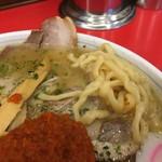 赤湯ラーメン 龍上海 - 太麺