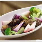 Organic Cafe あたたかなお皿 - 牛すね肉のシチュー