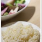 Organic Cafe あたたかなお皿 - 5分搗き玄米
