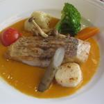 スパイスガーデン - 真鯛のアメリケーヌソース