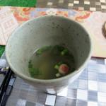 吉祥寺 YAKISOBA 四季 - 野菜スープは優しい味わい