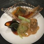 中国飯店 - 前菜の盛り合わせ