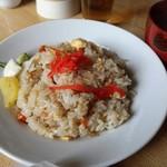 アラスカ - チャーハン (650円) 味噌汁付