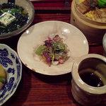 そばきり典座 - 穴子ご飯セット