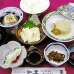 桝屋 味処 - 料理写真:ゆば御膳。名物ゆばをいろいろなお味で召し上がれます。おすすめのお膳です。