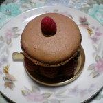 5220482 - ショコラマカロンのケーキ