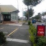 オレンジ カウンティ Cafe - 看板発見