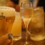 52200341 - 乾杯はそれぞれ好きなものを…。男前ハイボールが好きでした!