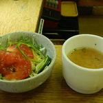 カレーショップ ボナッ - サラダとスープ