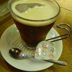 カレーショップ ボナッ - アイスコーヒー
