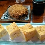 52201176 - 出汁巻き玉子と特製コロッケ