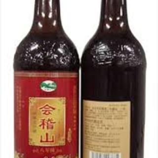 種類豊富なドリンクメニュー。紹興酒は【会稽山】をご用意。