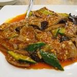 景徳鎮酒家 - 豚レバーの香り辛子ソース
