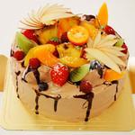 クローバー クローバー - 生チョコSPデコレーションケーキ