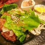 ブロンコ - 網焼きハンバーグ(880円)