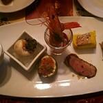 ビストロ・ラ・バニーユ - 前菜の盛り合わせ 2000円
