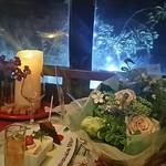 ビストロ・ラ・バニーユ - デザートの盛り合わせ お誕生日バージョン