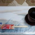 日本料理 鰻割烹  新川 - テーブルセット