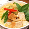 豆腐のグリーンカレー(ジャスミンライス付)