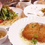 Restaurant Flounder - 料理写真:自社育成ヒラメのカダイフ包みランチ \1.600(税別)