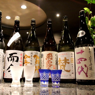 種類豊富な酒