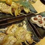 北海道室蘭焼鳥 居酒屋 蔵 - 室蘭焼き鳥(豚肉)