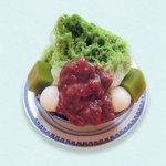 ばさら 梅々庵 - 梅々庵のかき氷 濃茶の宇治金時780円
