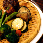 52209675 - 野菜素揚げおまかせ盛り 730