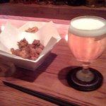 5221444 - ビールとナンコツのガーリック揚